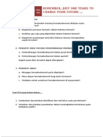 Persiapan Uas Farmakoekonomi - Dra. Lili Musnelina, Msi,Apt