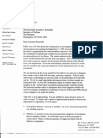 Correspondence between 9/11 Commission and Pentagon