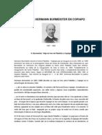 Relatos de Hermann Burmeister en Copiapo