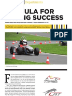 Formula for Racing Success