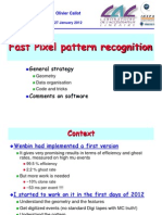 2012-01-27 Fast Pixel Pattern Recognition