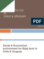 Bajaj Auto Ltd in Chile in Uruguay