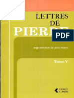 Les Lettres de Pierre