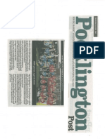 Pocklington Post Performance 8th July