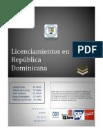 Licenciamiento de softwrare en RD