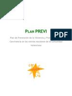 Plan PREVI - Plan de Prevención de la Violencia y Promoción de la Convivencia en los centros escolares de la Comunidadad Valenciana