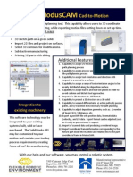 ModusCAM - Solidworks robotic path planning application