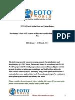 February 2013 Global Forum Report
