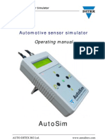 AutoSim Manual ENG
