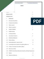 TRABAJO DE CONTABILIDAD PRESUPUESTAL-SECTOR EDUCACIÓN