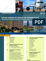 Studi Kinerja Industri Pariwisata 2013