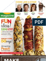 Food Network Magazine July August 2013