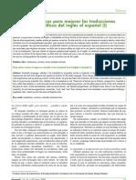 Consejos básicos para mejorar las traducciones de textos científicos del ingles al español (I)