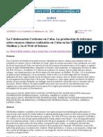 La Colaboración Cochrane en Cuba. La producción de informes