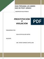 VIOLACION Y PROSTITUCION