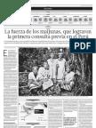La historia de lucha de los maijunas