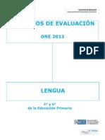 Criterios De Lengua 3º Y 6º Primaria