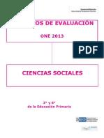 Criterios De Ciencias Sociales 3º Y 6º De Primaria