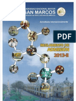 Prospecto Examen de Admisión San Marcos 2013-II