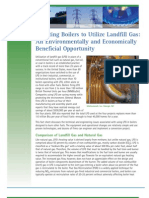 Adapting Boilers to Utilize Landfill Gas