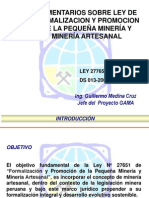 Coment Ley 27651 Reglam (1)