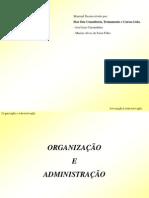 Capitulo 01 - Organizacao e Administracao