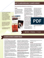 Climate Science reading recommendations, Summer 2013