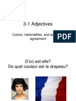 Adjectives Intro Colors and Nationalities