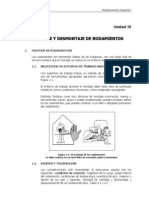 Montajej y Desmontaje de Rodamientos