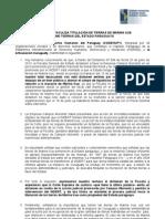 Fiscalía obstaculiza titulación de tierras de Marina Kue como tierras del Estado paraguayo