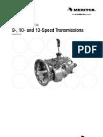 Meritor 9-10-13 Speed Transmissions