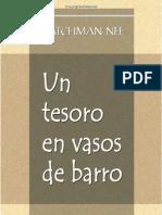 Un Tesoro en Vasos de Barro_Watchman Nee by Fidel