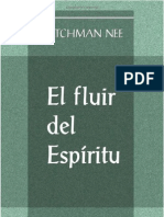 El Fluir Del Espiritu_Watchman Nee by Fidel