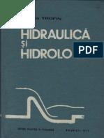 Hidraulica Si Hidrologie Note de Curs [Elena Trofin]