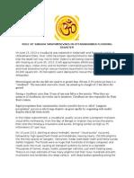 Role of RSS (Sangh) Swayamsevaks in Uttarakhanda Flooding Disaster Management.