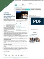 Activistas Documentan Recorrido de La Ruta Del Migrante - El Universal Veracruz