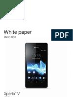 Whitepaper en Lt25i Xperia V