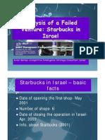 Starbucks Failure in Israel_Avner Barnea