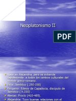 11. Neoplatonismo II