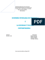 Shayreth y Otros Trabajo de Historia de Venezuela (Petroleo)