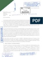 Carta Al Grupo Apoyo Respecto de Ranking Legislativo
