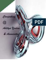 Cloud Computing-Aditya Yadav and Associates