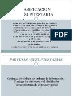 PARTIDAS PRESUPUESTARIAS
