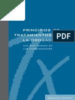 NIDA - (2010) Principios de Tratamiento para la Drogadicción. Una guía basada en las investigaciones