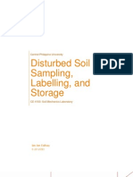 Experiment 1 - Disturbed Soil Sampling, Labelling, and Storage.docx
