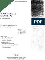 Matemáticas Discretas - Richard Jonhsonbaugh (4ta Edición)