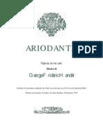Ariodante Libretto