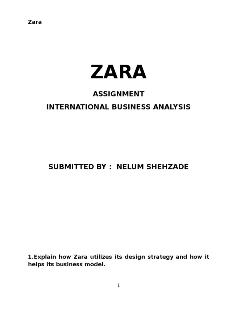 zara spanish apparel brand retail inventory