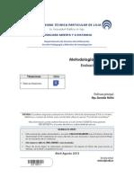 E221051 Evaluación a distancia - Metodología de Estudio II BIMESTRE