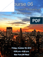 IPS 2012 - Psych Disorders on HIV